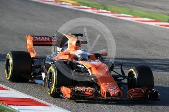 World © Octane Photographic Ltd. Formula 1 - Winter Test 1. Fernando Alonso - McLaren Honda MCL32. Circuit de Barcelona-Catalunya. Monday 27th February 2017. Digital Ref :1780CB1D3397