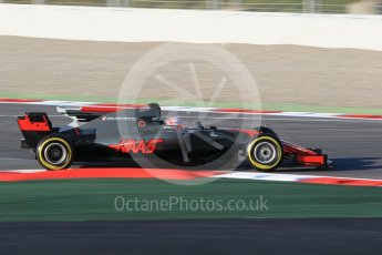 World © Octane Photographic Ltd. Formula 1 - Winter Test 1. Kevin Magnussen - Haas F1 Team VF-17. Circuit de Barcelona-Catalunya. Monday 27th February 2017. Digital Ref : 1780CB1D3534