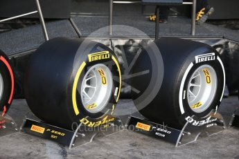 World © Octane Photographic Ltd. Formula 1 winter test 1, Pirelli 2017 specification tyres,Circuit de Barcelona-Catalunya. Monday 27th February 2017. Digital Ref :1780CB1D5973