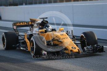 World © Octane Photographic Ltd. Formula 1 winter test 1, Renault Sport F1 Team R.S.17 – Nico Hulkenberg, Circuit de Barcelona-Catalunya. Monday 27th February 2017. Digital Ref :1780CB1D6016