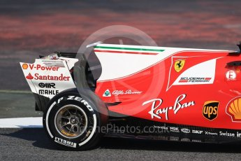 World © Octane Photographic Ltd. Formula 1 winter test 1, Scuderia Ferrari SF70H – Sebastian Vettel. Circuit de Barcelona-Catalunya. Monday 27th February 2017. Digital Ref :1780CB1D6243