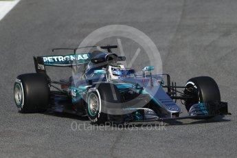 World © Octane Photographic Ltd. Formula 1 winter test 1, Mercedes AMG Petronas F1 W08 EQ Energy+ - Valtteri Bottas. Circuit de Barcelona-Catalunya. Monday 27th February 2017. Digital Ref :1780CB1D6270