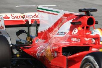 World © Octane Photographic Ltd. Formula 1 winter test 1, Scuderia Ferrari SF70H – Sebastian Vettel. Circuit de Barcelona-Catalunya. Monday 27th February 2017. Digital Ref :1780CB1D6392