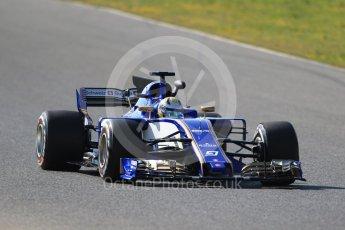 World © Octane Photographic Ltd. Formula 1 - Winter Test 1. Marcus Ericsson - Sauber F1 Team C36. Circuit de Barcelona-Catalunya. Monday 27th February 2017. Digital Ref :1780CB1D6700