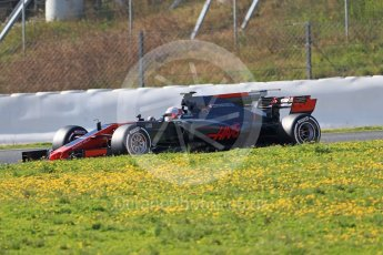 World © Octane Photographic Ltd. Formula 1 - Winter Test 1. Kevin Magnussen - Haas F1 Team VF-17. Circuit de Barcelona-Catalunya. Monday 27th February 2017. Digital Ref :1780CB1D6788