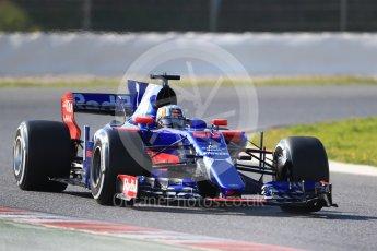 World © Octane Photographic Ltd. Formula 1 - Winter Test 1. Carlos Sainz - Scuderia Toro Rosso STR12. Circuit de Barcelona-Catalunya. Monday 27th February 2017. Digital Ref :1780CB1D6816