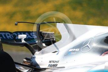 World © Octane Photographic Ltd. Formula 1 - Winter Test 1. Lewis Hamilton - Mercedes AMG Petronas F1 W08 EQ Energy+. Circuit de Barcelona-Catalunya. Monday 27th February 2017. Digital Ref : 1780CB1D6845
