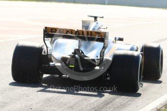 World © Octane Photographic Ltd. Formula 1 - Winter Test 1. Nico Hulkenberg - Renault Sport F1 Team R.S.17. Circuit de Barcelona-Catalunya. Monday 27th February 2017. Digital Ref : 1780LB1D8430