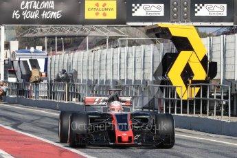 World © Octane Photographic Ltd. Formula 1 - Winter Test 1. Kevin Magnussen - Haas F1 Team VF-17. Circuit de Barcelona-Catalunya. Monday 27th February 2017. Digital Ref : 1780LB1D8492