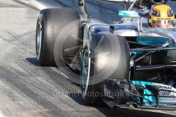 World © Octane Photographic Ltd. Formula 1 - Winter Test 1. Lewis Hamilton - Mercedes AMG Petronas F1 W08 EQ Energy+. Circuit de Barcelona-Catalunya. Monday 27th February 2017. Digital Ref : 1780LB1D8570