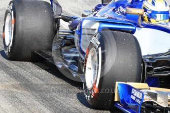 World © Octane Photographic Ltd. Formula 1 - Winter Test 1. Marcus Ericsson - Sauber F1 Team C36. Circuit de Barcelona-Catalunya. Monday 27th February 2017. Digital Ref : 1780LB1D8631