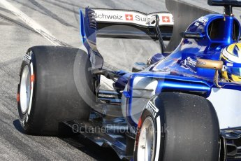 World © Octane Photographic Ltd. Formula 1 - Winter Test 1. Marcus Ericsson - Sauber F1 Team C36. Circuit de Barcelona-Catalunya. Monday 27th February 2017. Digital Ref : 1780LB1D8641