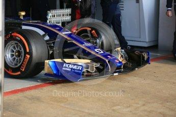 World © Octane Photographic Ltd. Formula 1 - Winter Test 1. Marcus Ericsson - Sauber F1 Team C36. Circuit de Barcelona-Catalunya. Monday 27th February 2017. Digital Ref : 1780LB5D7547
