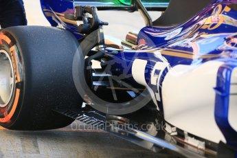 World © Octane Photographic Ltd.. Formula 1 - Winter Test 1. Marcus Ericsson. - Sauber F1 Team C36. Circuit de Barcelona-Catalunya. Monday 27th February 2017. Digital Ref :