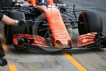 World © Octane Photographic Ltd. Formula 1 - Winter Test 1. Fernando Alonso - McLaren Honda MCL32. Circuit de Barcelona-Catalunya. Monday 27th February 2017. Digital Ref : 1780LB5D7614
