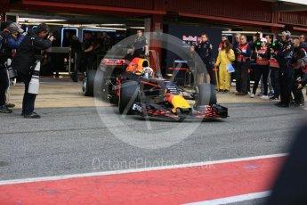 World © Octane Photographic Ltd. Formula 1 - Winter Test 1. Daniel Ricciardo - Red Bull Racing RB13. Circuit de Barcelona-Catalunya. Monday 27th February 2017. Digital Ref : 1780LB5D7654