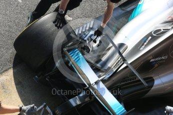 World © Octane Photographic Ltd. Formula 1 - Winter Test 1. Valtteri Bottas - Mercedes AMG Petronas F1 W08 EQ Energy+. Circuit de Barcelona-Catalunya. Monday 27th February 2017. Digital Ref : 1780LB5D7779