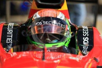 World © Octane Photographic Ltd. FIA Formula 2 (F2) - Practice. Louis Deletraz – Racing Engineering. Circuit de Barcelona - Catalunya, Spain. Friday 12th May 2017. Digital Ref: 1811CB7D4431