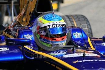 World © Octane Photographic Ltd. FIA Formula 2 (F2) - Practice. Oliver Rowland – DAMS. Circuit de Barcelona - Catalunya, Spain. Friday 12th May 2017. Digital Ref:1811CB7D4433