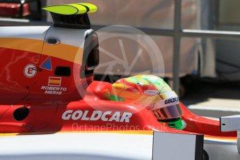 World © Octane Photographic Ltd. FIA Formula 2 (F2) - Practice. Roberto Merhi – Campos Racing. Circuit de Barcelona - Catalunya, Spain. Friday 12th May 2017. Digital Ref:1811CB7D4483