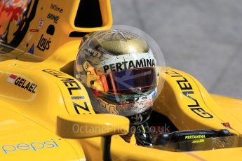 World © Octane Photographic Ltd. FIA Formula 2 (F2) - Practice. Sean Galael – Pertamina Arden. Circuit de Barcelona - Catalunya, Spain. Friday 12th May 2017. Digital Ref:1811CB7D4566