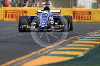 World © Octane Photographic Ltd. Formula 1 - Australian Grand Prix - Practice 1. Marcus Ericsson – Sauber F1 Team C36. Albert Park Circuit. Friday 24th March 2017. Digital Ref: 1793LB1D0956
