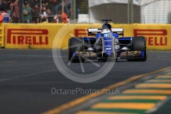 World © Octane Photographic Ltd. Formula 1 - Australian Grand Prix - Practice 1. Marcus Ericsson – Sauber F1 Team C36. Albert Park Circuit. Friday 24th March 2017. Digital Ref: 1793LB1D1012