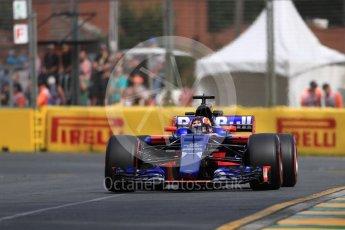 World © Octane Photographic Ltd. Formula 1 - Australian Grand Prix - Practice 1. Daniil Kvyat - Scuderia Toro Rosso STR12. Albert Park Circuit. Friday 24th March 2017. Digital Ref: 1793LB1D1179