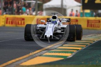 World © Octane Photographic Ltd. Formula 1 - Australian Grand Prix - Practice 1. Felipe Massa - Williams Martini Racing FW40. Albert Park Circuit. Friday 24th March 2017. Digital Ref: 1793LB1D1216