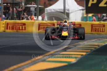 World © Octane Photographic Ltd. Formula 1 - Australian Grand Prix - Practice 1. Daniel Ricciardo - Red Bull Racing RB13. Albert Park Circuit. Friday 24th March 2017. Digital Ref: 1793LB1D1596