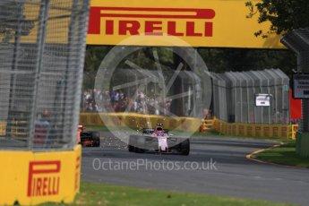 World © Octane Photographic Ltd. Formula 1 - Australian Grand Prix - Practice 1. Esteban Ocon - Sahara Force India VJM10. Albert Park Circuit. Friday 24th March 2017. Digital Ref: 1793LB1D1808