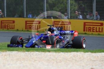 World © Octane Photographic Ltd. Formula 1 - Australian Grand Prix - Practice 1. Daniil Kvyat - Scuderia Toro Rosso STR12. Albert Park Circuit. Friday 24th March 2017. Digital Ref: 1793LB1D1919