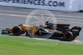 World © Octane Photographic Ltd. Formula 1 - Australian Grand Prix - Practice 1. Nico Hulkenberg - Renault Sport F1 Team R.S.17. Albert Park Circuit. Friday 24th March 2017. Digital Ref: 1793LB1D2006