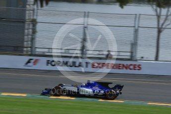 World © Octane Photographic Ltd. Formula 1 - Australian Grand Prix - Practice 1. Marcus Ericsson – Sauber F1 Team C36. Albert Park Circuit. Friday 24th March 2017. Digital Ref: 1793LB2D4500