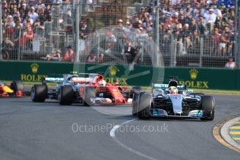 World © Octane Photographic Ltd. Formula 1 - Australian Grand Prix - Race. Lewis Hamilton - Mercedes AMG Petronas F1 W08 EQ Energy+. Albert Park Circuit. Sunday 26th March 2017. Digital Ref: 1802LB1D5981