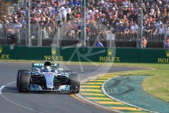 World © Octane Photographic Ltd. Formula 1 - Australian Grand Prix - Race. Valtteri Bottas - Mercedes AMG Petronas F1 W08 EQ Energy+. Albert Park Circuit. Sunday 26th March 2017. Digital Ref: 1802LB1D6050