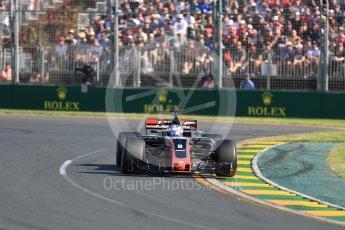World © Octane Photographic Ltd. Formula 1 - Australian Grand Prix - Race. Sebastian Vettel - Scuderia Ferrari SF70H. Albert Park Circuit. Sunday 26th March 2017. Digital Ref: 1802LB1D6204