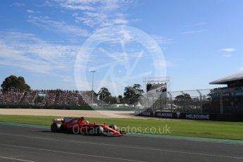 World © Octane Photographic Ltd. Formula 1 - Australian Grand Prix - Race. Sebastian Vettel - Scuderia Ferrari SF70H. Albert Park Circuit. Sunday 26th March 2017. Digital Ref: 1802LB1D6431