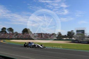 World © Octane Photographic Ltd. Formula 1 - Australian Grand Prix - Race. Lance Stroll - Williams Martini Racing FW40. Albert Park Circuit. Sunday 26th March 2017. Digital Ref: 1802LB1D6502