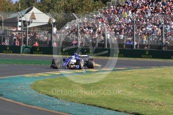 World © Octane Photographic Ltd. Formula 1 - Australian Grand Prix - Race. Marcus Ericsson – Sauber F1 Team C36. Albert Park Circuit. Sunday 26th March 2017. Digital Ref: 1802LB1D6553