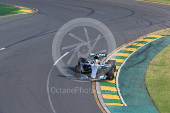 World © Octane Photographic Ltd. Formula 1 - Australian Grand Prix - Race. Lewis Hamilton - Mercedes AMG Petronas F1 W08 EQ Energy+. Albert Park Circuit. Sunday 26th March 2017. Digital Ref: 1802LB1D6706