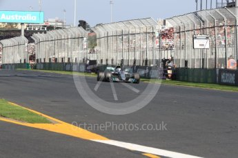 World © Octane Photographic Ltd. Formula 1 - Australian Grand Prix - Race. Valtteri Bottas - Mercedes AMG Petronas F1 W08 EQ Energy+. Albert Park Circuit. Sunday 26th March 2017. Digital Ref: 1802LB1D6892