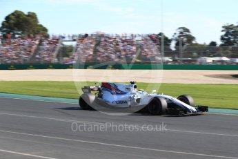 World © Octane Photographic Ltd. Formula 1 - Australian Grand Prix - Race. Felipe Massa - Williams Martini Racing FW40. Albert Park Circuit. Sunday 26th March 2017. Digital Ref: 1802LB2D5737
