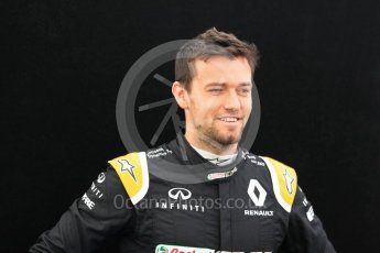 World © Octane Photographic Ltd. Formula 1 - Australian Grand Prix - FIA Driver Photo Call. Jolyon Palmer - Renault Sport F1 Team R.S.17. Albert Park Circuit. Thursday 23rd March 2017. Digital Ref: 1790LB1D8188