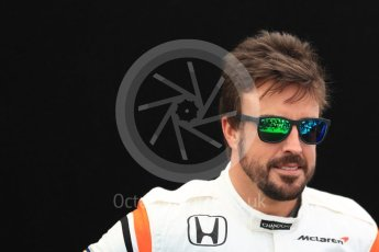 World © Octane Photographic Ltd. Formula 1 - Australian Grand Prix - FIA Driver Photo Call. Fernando Alonso - McLaren Honda MCL32. Albert Park Circuit. Thursday 23rd March 2017. Digital Ref: 1790LB1D8350
