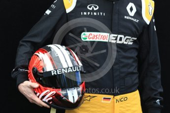 World © Octane Photographic Ltd. Formula 1 - Australian Grand Prix - FIA Driver Photo Call. Nico Hulkenberg - Renault Sport F1 Team R.S.17. Albert Park Circuit. Thursday 23rd March 2017. Digital Ref: 1790LB1D8606