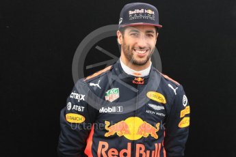 World © Octane Photographic Ltd. Formula 1 - Australian Grand Prix - FIA Driver Photo Call. Daniel Ricciardo - Red Bull Racing RB13. Albert Park Circuit. Thursday 23rd March 2017. Digital Ref: 1790LB1D8862