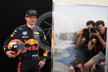 World © Octane Photographic Ltd. Formula 1 - Australian Grand Prix - FIA Driver Photo Call. Max Verstappen - Red Bull Racing RB13. Albert Park Circuit. Thursday 23rd March 2017. Digital Ref: 1790LB1D8934