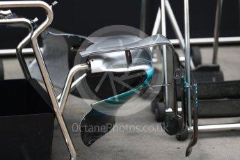 World © Octane Photographic Ltd. Formula 1 - Australian Grand Prix - Wednesday Setup. Mercedes AMG Petronas F1 W08 EQ Energy+. Albert Park Circuit. Wednesday 22nd March 2017. Digital Ref: 1788LB1D7693