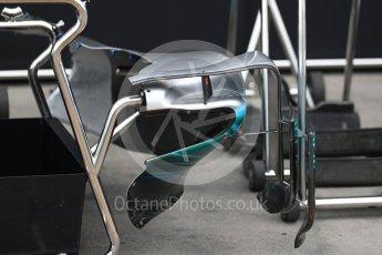 World © Octane Photographic Ltd. Formula 1 - Australian Grand Prix - Wednesday Setup. Mercedes AMG Petronas F1 W08 EQ Energy+. Albert Park Circuit. Wednesday 22nd March 2017. Digital Ref: 1788LB1D7696